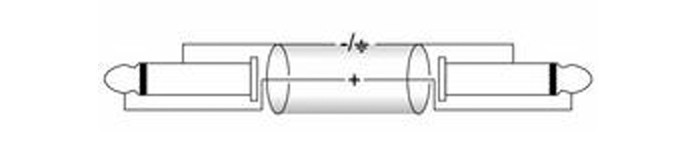 6m Mono Klinke/Klinke Kabel KC-60 schwarz – Bild 2