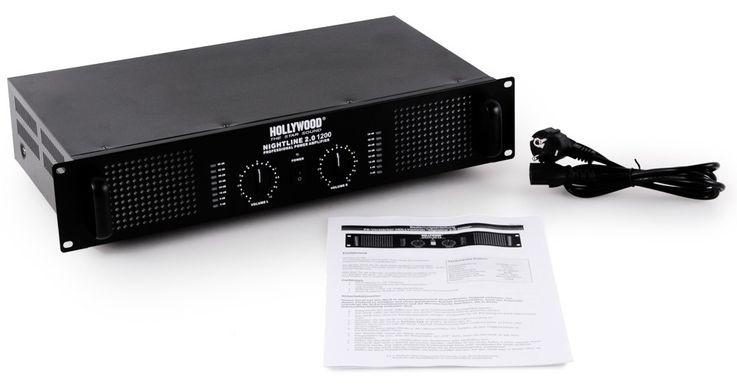 PA DJ 2400 Watt Verstärker USB MP3 Mixer Mischpult Cinch Kabel Mikrofon DJ-209 – Bild 7