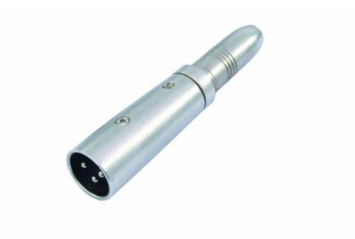 Adapter Klinkenbuchse mono zu XLR-Stecker