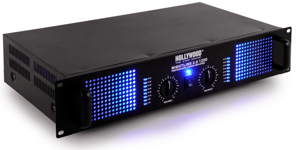 PA Anlage mit Boxen Endstufe USB Mixer und Mikrofon DJ-279 – Bild 4