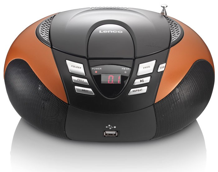 Tragbarer CD-Player mit Radio MP3/WMA-Player und USB – Bild 2