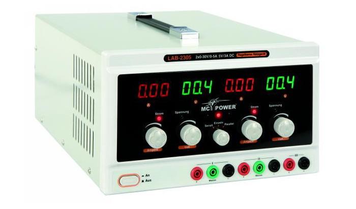 Labornetzgerät McPower 165 Watt mit Lüfter LAB-2305 – Bild 2