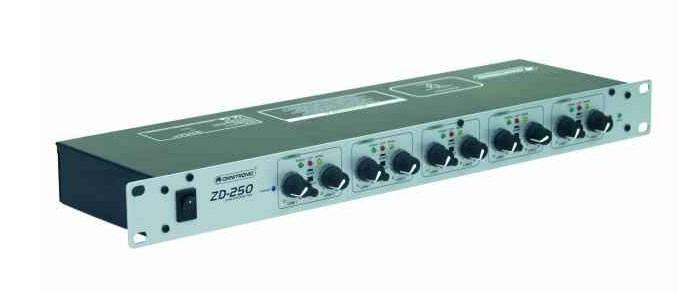Singnalverstärker OMNITRONIC Zonen-Verteiler ZD-250 – Bild 2
