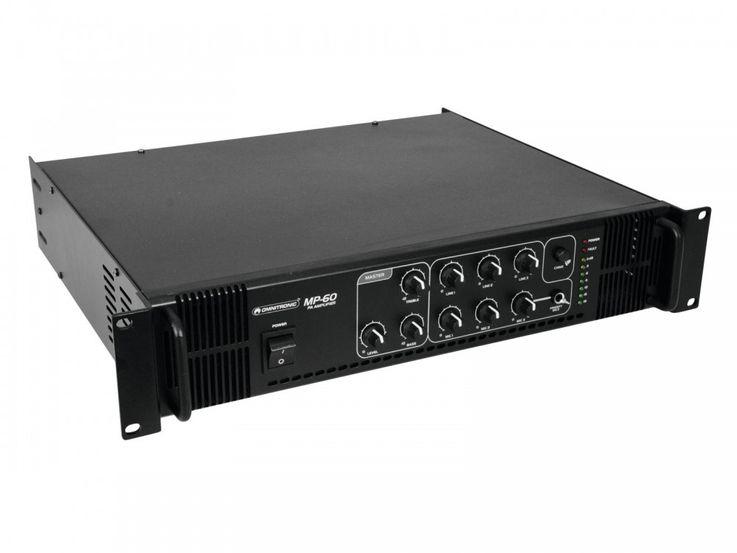 ELA-Mischverstärker Verstärker Endstufe Omnitronic MP-60 – Bild 1