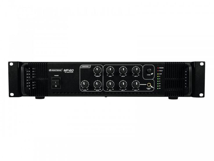 ELA-Mischverstärker Verstärker Endstufe Omnitronic MP-60 – Bild 3