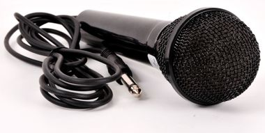 High-quality standard microphone 6, 3mm jack plug black – Bild 1