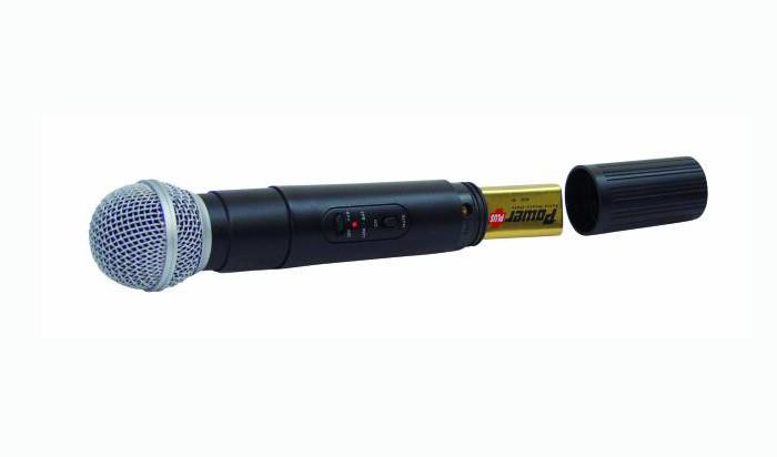 Funkmikrofonset DJ PA Profi OMNITRONIC VHF-250 214 MHz – Bild 2