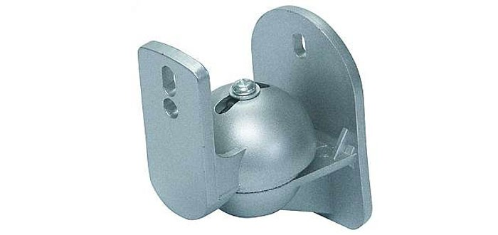 Speaker wall mount speaker holder wall mounting PAIR silver LB  -W 5S