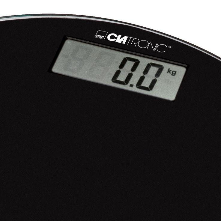 Pèse-personne surface verre arrêt automatique alimentation sur piles écran LCD – Bild 2
