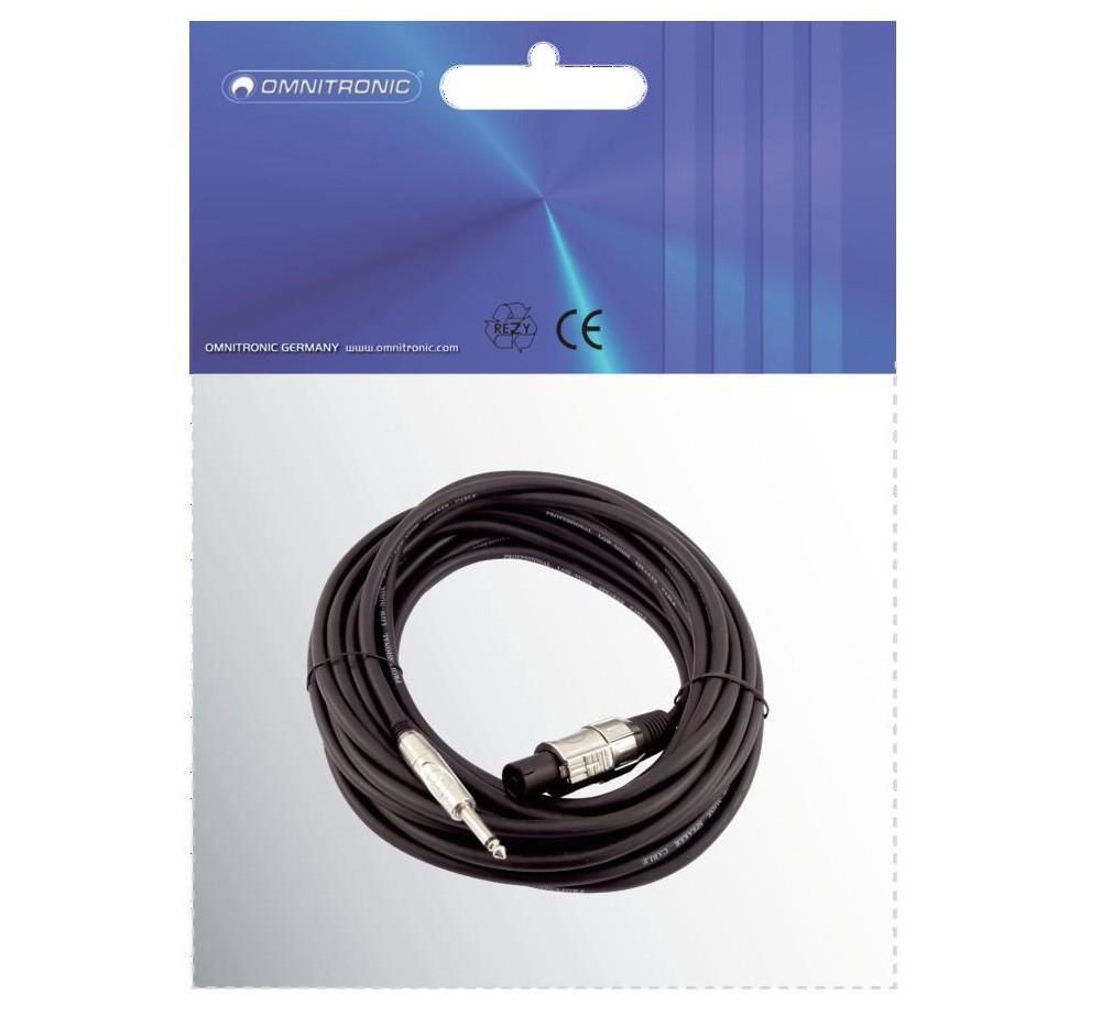 PA-Verbindungskabel 3m PA Stecker - Klinkenstecker – Bild 2