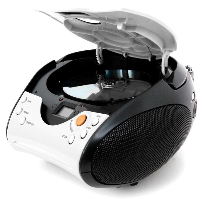 Lenco Stereoanlage mit CD-Player und Radio SCD-24 weiss – Bild 2