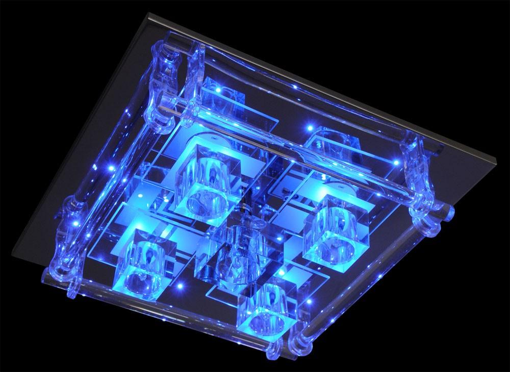 Deckenleuchte mit LED Effekt und Fernbedienung – Bild 6