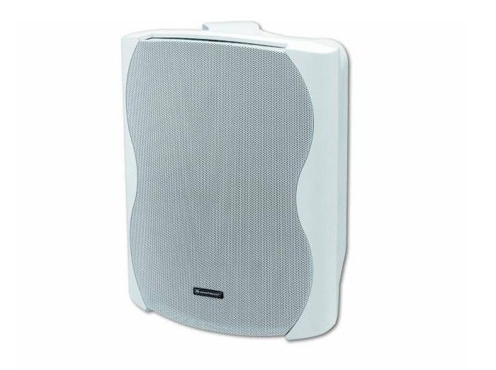 2x Lautsprecher Boxen OMNITRONIC in weiß C-80 – Bild 2