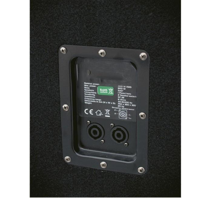 800W 3-Wege Bass Lautsprecher OMNITRONIC DX-2022 - NUR 1 BOX – Bild 4