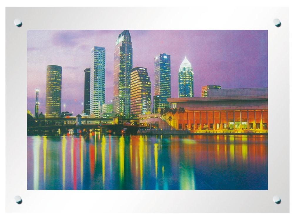 Laufbild mit Beleuchtung, Höhe 47cm, Breite 65cm, Skyline