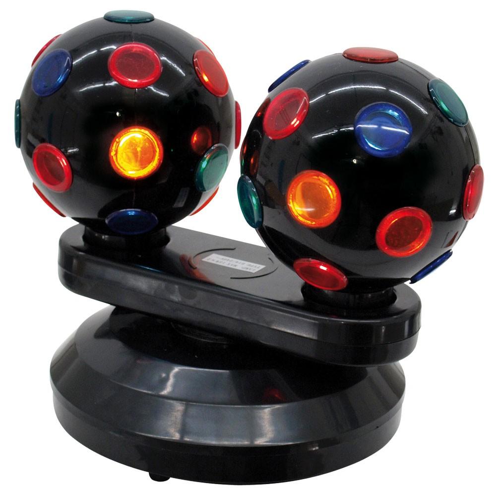 Strahleneffekt Mini Double Ball Lampe Licht Lichteffekte