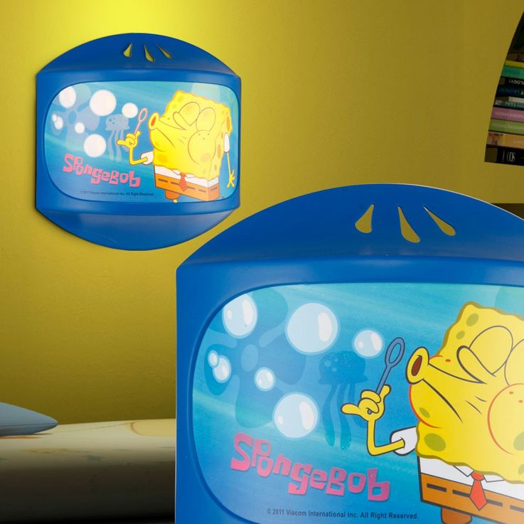 Kids room wall light sponge Bob light sleep lighting girl boy Globo 662341 – Bild 4