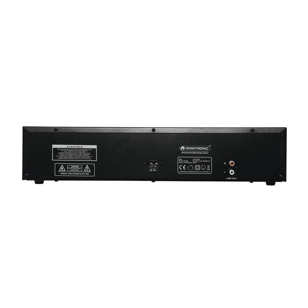 DJ PA CD-Player CD-Spieler OMNITRONIC XCP-1400 – Bild 3