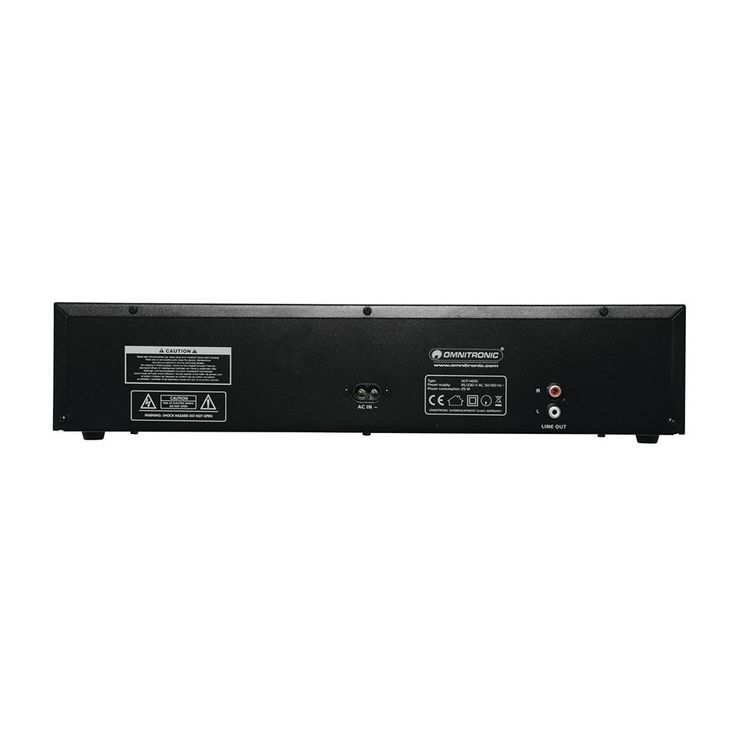 DJ PA Rack CD Player Musik Spieler Fernbedienung Equipment OMNITRONIC XCP-1400 – Bild 3