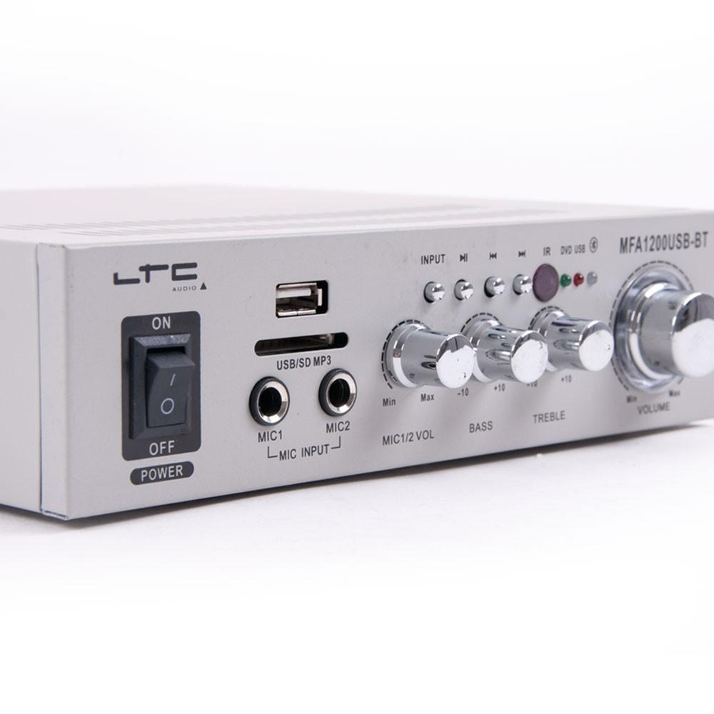 Karaokeanlage USB Verstärker Boxen und Funkmikrofon DJ-488 – Bild 5