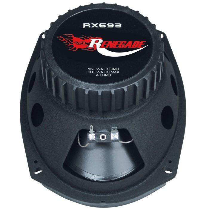 300W PAAR AUTO 3-Wege-Triax Lautsprecher 6x9 Renegade RX-693 – Bild 4