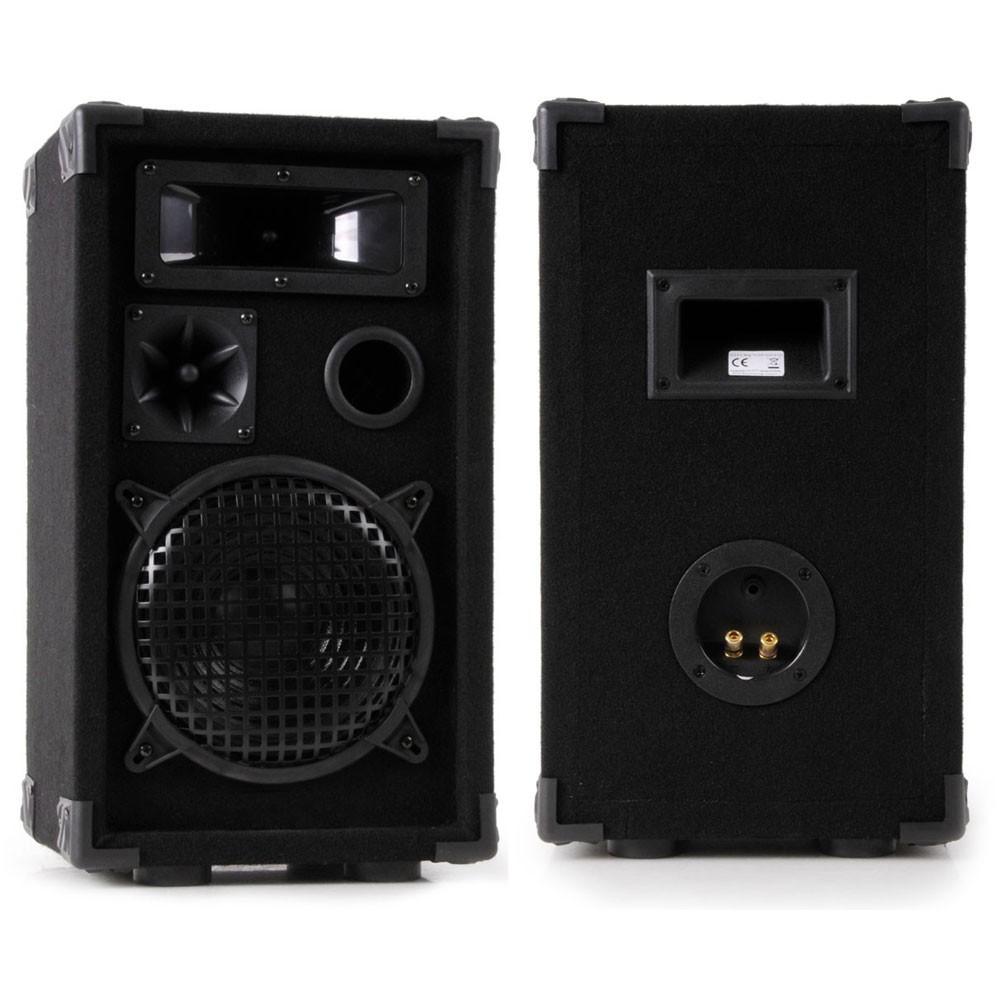 Partyanlage mit Verstärker USB Mischpult und Boxen DJ-631 – Bild 2