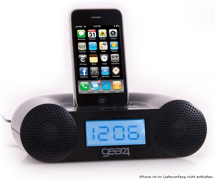 Gear 4 Radiowecker mit Ipod Dock - CRG-60