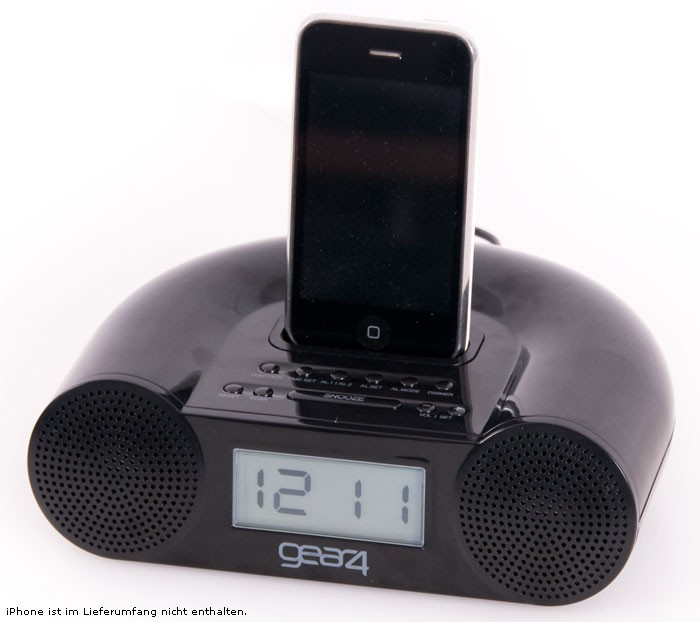 Radiowecker mit Ipod Dock Musik Center Wecker Radio HiFi-System Gear 4 CRG-60 – Bild 2