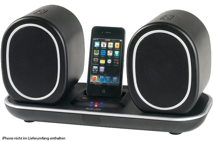 kabelloses iphone dock musik center mit led anzeige audio technik audio hifi stereoanlagen. Black Bedroom Furniture Sets. Home Design Ideas