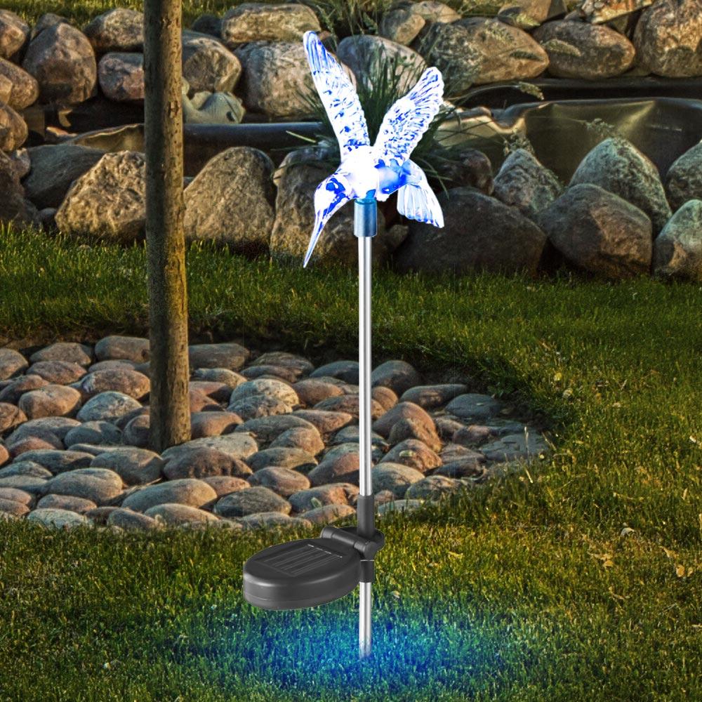Solarleuchten mit Farbwechsler und LED - Kolibri – Bild 3