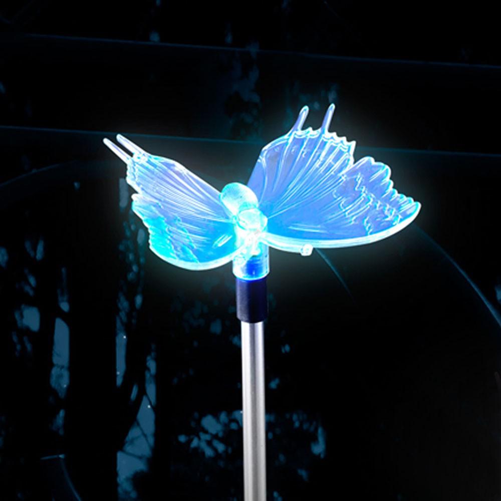 Solarleuchten mit Farbwechsler LED - Schmetterling – Bild 10