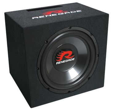 30cm Bassbox Single-Bassreflex-System 500 W Renegade RXV1200