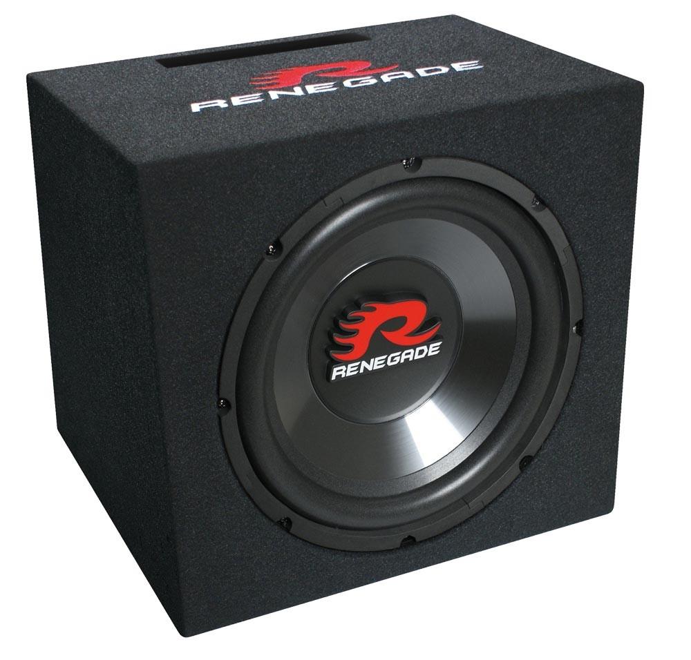 Baffle basse 30 cm single système réflet 12 pouces 500 watts Renegade RXV-1200