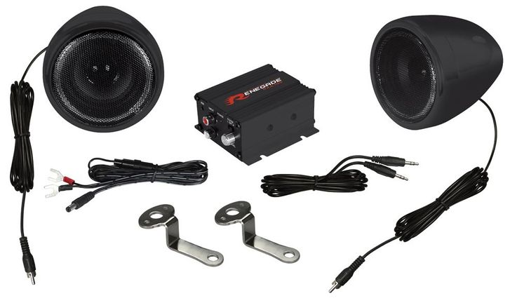 Motorbike/Scooter Soundsystem Renegade RXA100B Black Finish – Bild 1