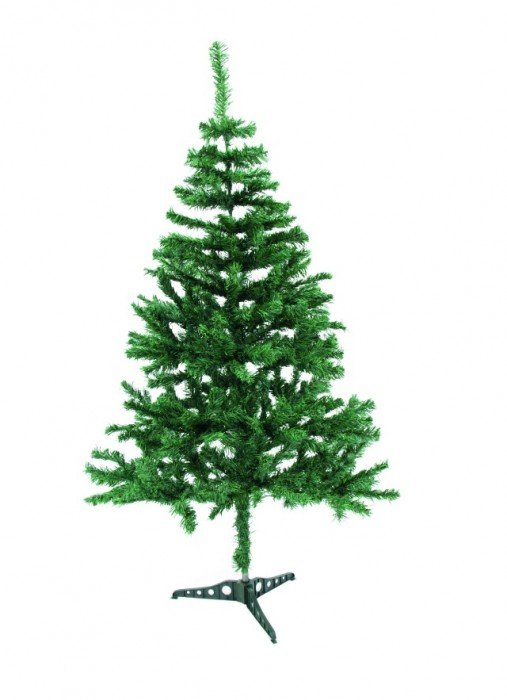 Tannenbaum in grün Winter Dekoration 120 cm – Bild 1