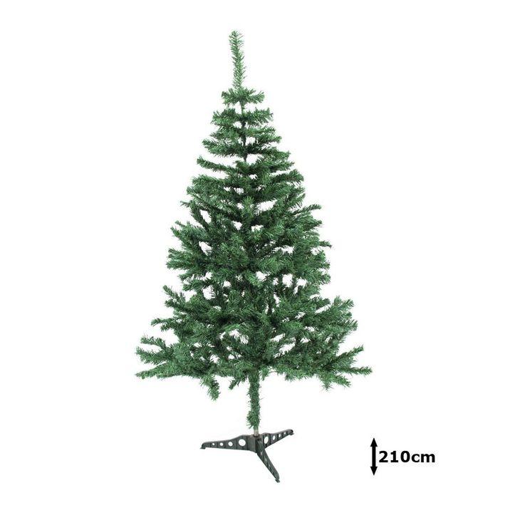 Tannenbaum in grün inklusive Ständer 210 cm – Bild 1