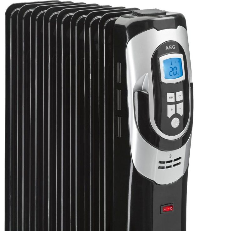 Oil-Radiator Heater 2000 Watt 11-fin Heat Mobile Radiator AEG RA 5588 – Bild 5