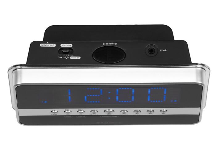 Radiowecker mit blauem Jumbo-Display MP3 AudioSonic CL-1482 – Bild 2