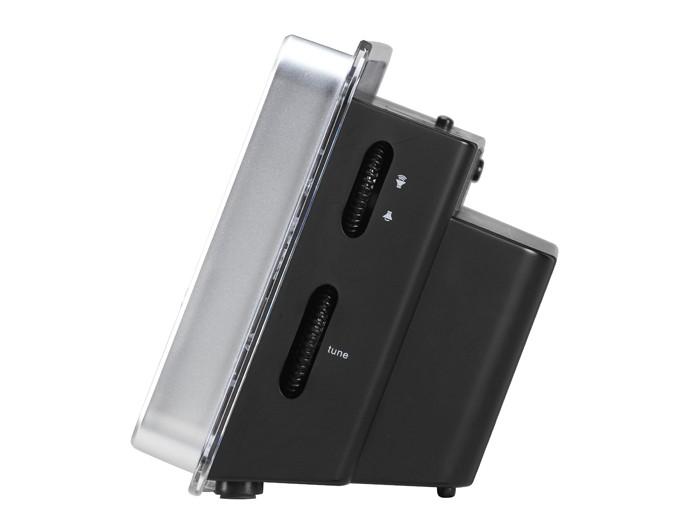 Radiowecker mit blauem Jumbo-Display MP3-Player AUX Tristar AudioSonic CL-1482 – Bild 4
