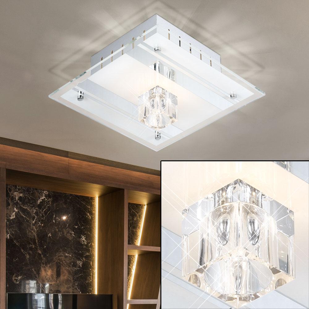Deckenleuchte aus Spiegelglas und Metall DIAMANTIS – Bild 5