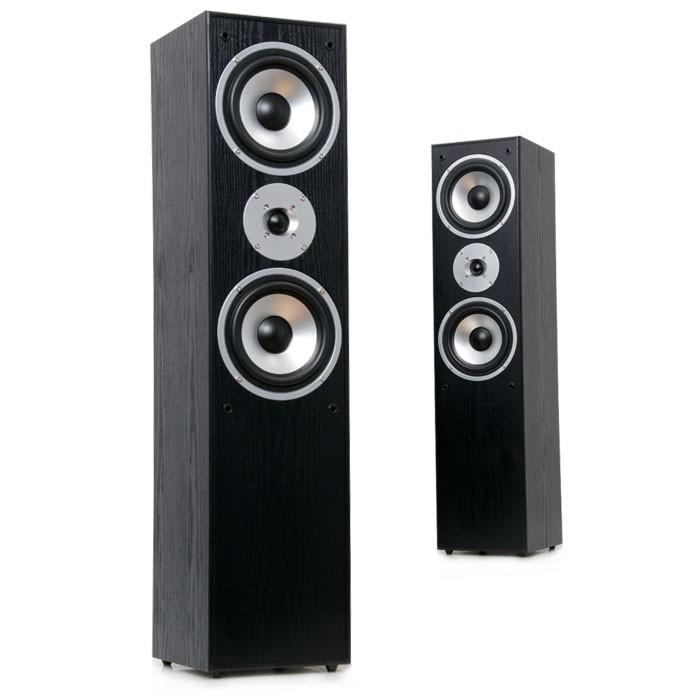 Stand Lautsprecher Boxen 1000 Watt 2-Wege schwarz AEG LB 4711 – Bild 3