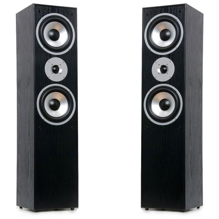 Stand Lautsprecher Boxen 1000 Watt 2-Wege schwarz AEG LB 4711