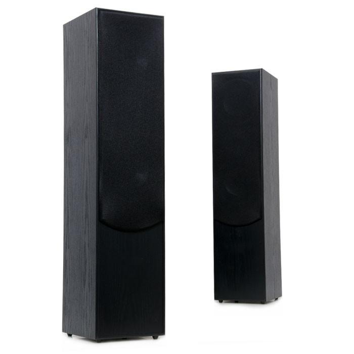 Stand Lautsprecher Boxen 1000 Watt 2-Wege schwarz AEG LB 4711 – Bild 5