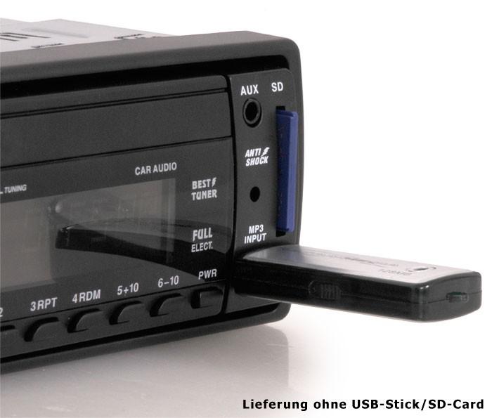 Autoradio MP3 AUX USB SD-Card RDS 10cm EBT Marquant MCR-1254 – Bild 4