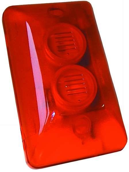 Émetteur de signal d'alarme LED rouge Éclairage de caméra de vitesse Avertissement ETT 530083