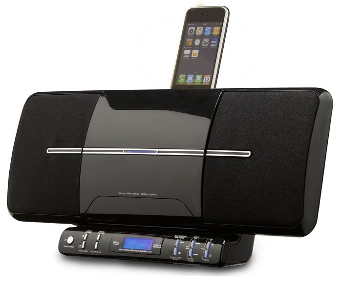 Modern iPod/iPhone stereo system with CD-Player Radio Denver MCI-102 – Bild 5