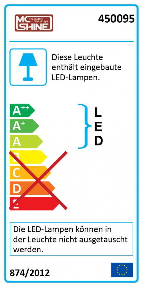 LED-Panel mit 96 LEDs und Hightech-Design – Bild 3