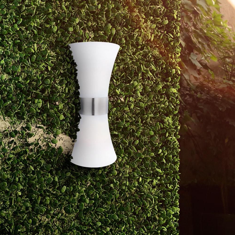 Up & Down Strahler, Höhe 35 cm, Edelstahl poliert Santana – Bild 5