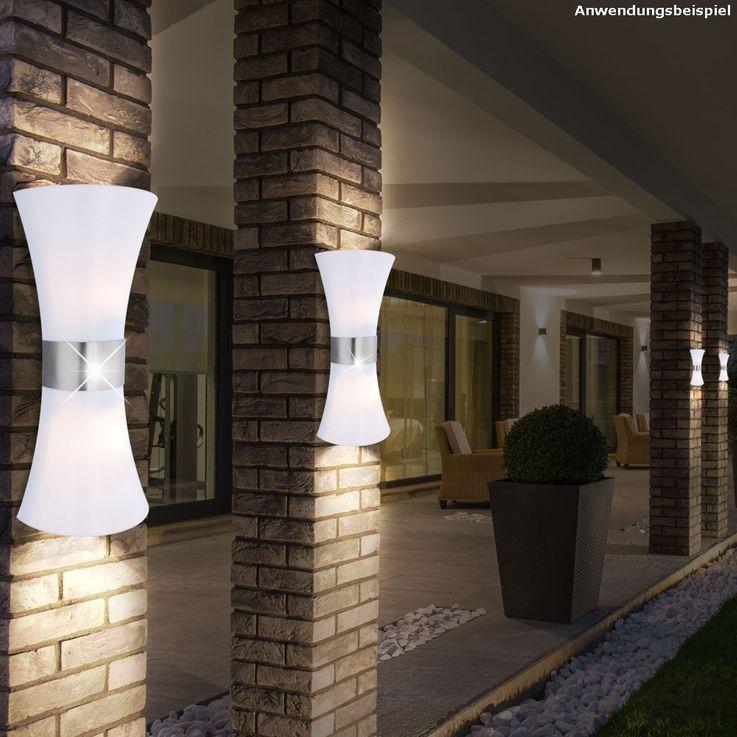 Außenleuchte Gartenbeleuchtung Außenbeleuchtung UP Down Lampe Gartenleuchte Globo 32086-2 – Bild 2