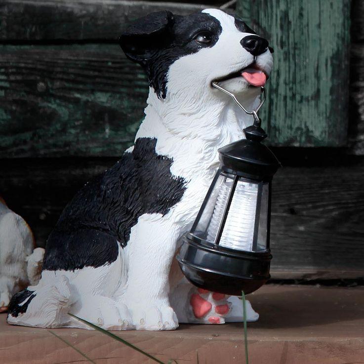 Solar LED Garten Aussenleuchte Hund Gartenlampe Hundelampe Leuchte Globo 33370 – Bild 3